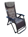 Folding Gravity Recliner Chair-09C-Brown