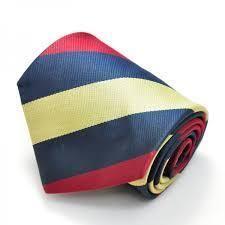Printed Strips Tie