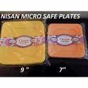 Square Plastic Plates