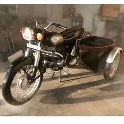 Black Antique Rajdoot Bike for Bar Decor, Size: Standerd, For Decoration