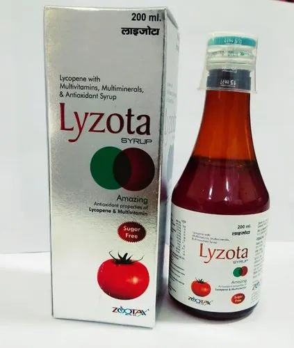 Lycopene, Multivitamins & Antioxidents Syrup
