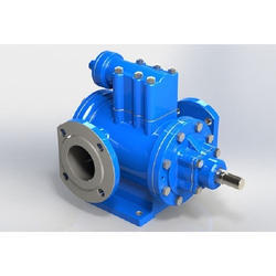 Three Spindle Screw Pump