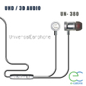 Metal Wired Earphone With Mic