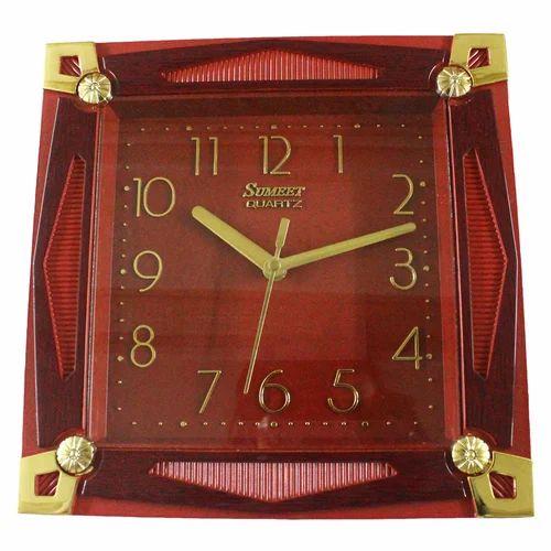 Wall Clocks Red Wall Clock Wholesaler from Mumbai