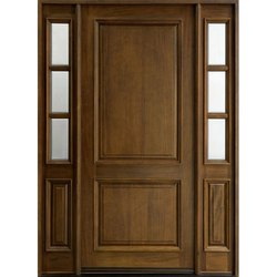 Vanasapati Enterprises Exterior Solid Wooden Door, For Residential / Commercial