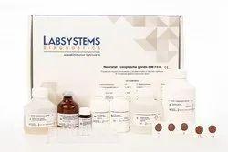 Neonatal Toxoplasma Gondii IgM FEIA Test Kit