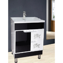24 inch Free Standing PVC Bathroom Vanities