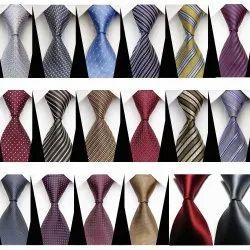 Woven Silk Stain Resist Ties