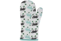 Quilted Cotton Oven Gloves