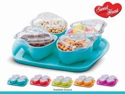 Sweet Heart Tray Set