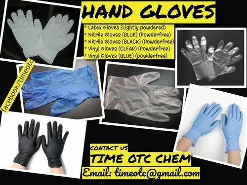200pcs Vinyl Medical Exam Gloves Powder Free Latex Nitrile Free Medium