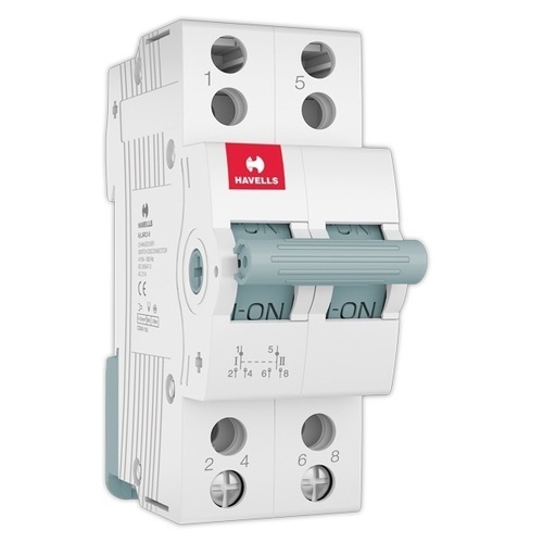Havells MCB Type MCB Changeover Switch