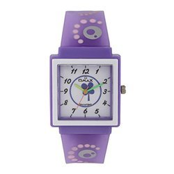OMAX Analog White Dial Kids Watch - KD130