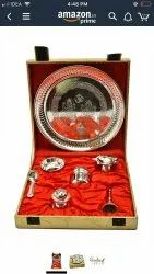 Brass Pooja Thalis, For Puja