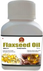 Flaxseed Oil Softgel Capsule (60 Capsule )