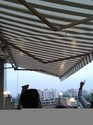Retractable Awning Shed