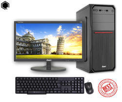 Desktop Computer with Intel Core i3 CPU, 16 Inch LED Monitor, 4 GB RAM, 500 GB HDD