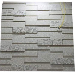 White mint sand stone CNC Designer Wall Panels, for Wall Tile