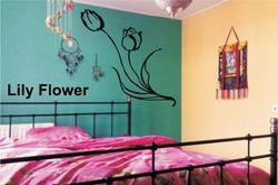 Big Stencils Lily Flower