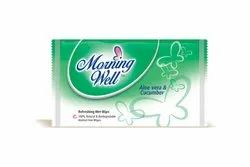 Wet Face Wipes Single Piece With Aelo Vera + Cucumber Fragrance