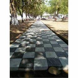 Cement Floor Square Blocks