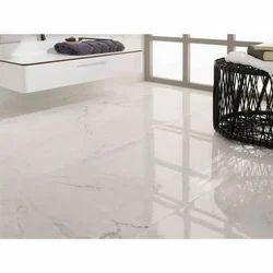 Polishing Marble Floor Tiles