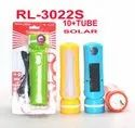 RL-3022S Rock Light 10W Solar Rechargeable Torch With Side Light