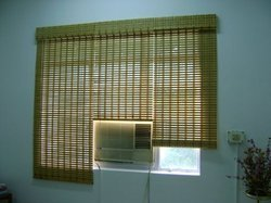 Horizontal Wooden Window Blinds