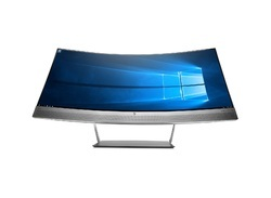 HP S340C Curved Monitor