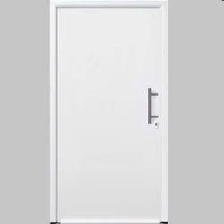 White Metal Safety Door
