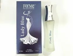 Lady Blue Perfume, Packaging Type: Box