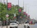 Pole Signage Advertising Board