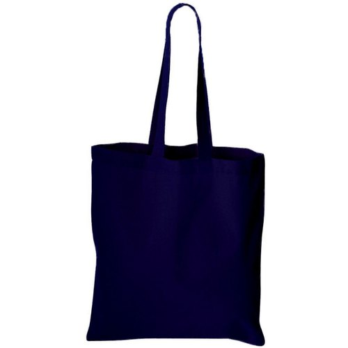 Loop Handle Multicolor Plain Shopping Cloth Bag, Capacity: 2 - 5 Kg