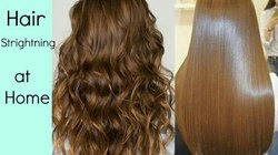 Hair Treatment Like Straightining, Keratin, Smoothing