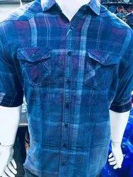 Indigo Check Shirts