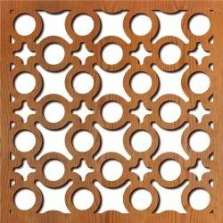 Plywood Cutting Through Waterjet