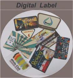 Lotus Digital Printed Label, for Garments