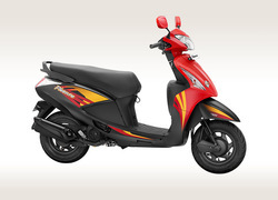 Red And Grey Hero Pleasure Scooter