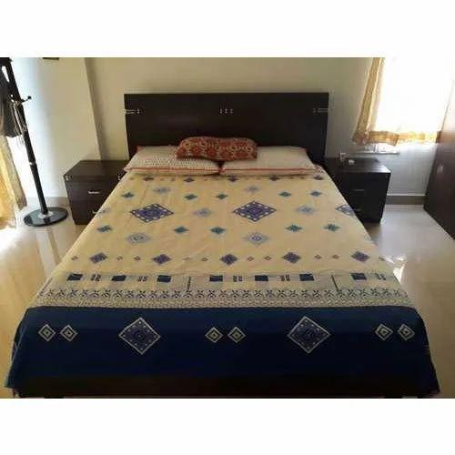 48c98e875d Brown Teak Wood Wooden Bed, Rs 35000 /unit, Vilvam Interior ...