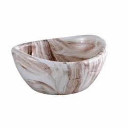 Ceramic Printed Designer Table Top Wash Basin for Home