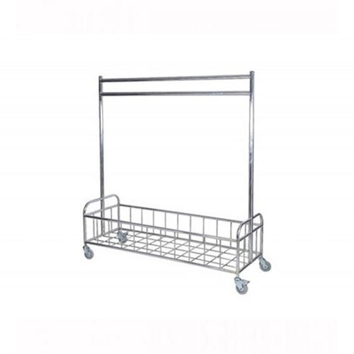 SSD Stainless Steel Two Portion Trolley, For Commercial