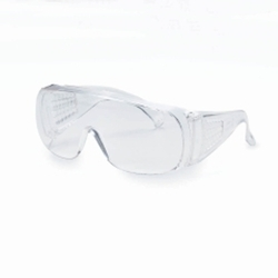 White Male Kimberly Clark V10 Unispec Over Spectacles
