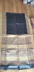 shiv &gayatri 6.5m bhagalpuri saree, With Blouse Piece