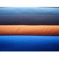 Polyester Dot Knit Fabric