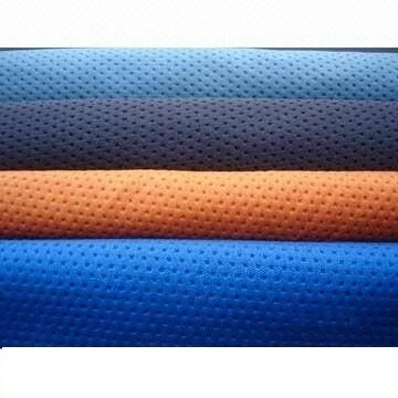 Polyester Dot Knit Fabric