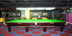 Billiard Snooker Table (INT 7500 Steel Cushion) 12ft