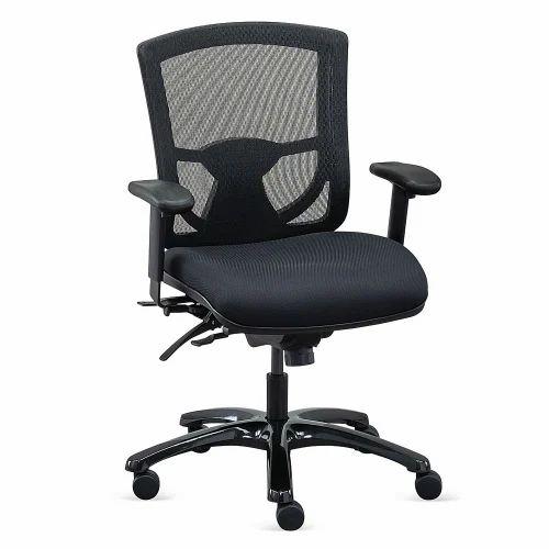 Black Adjustable Arms Computer Chair Rs 5500 Unit Designer Furniture Id 8185473933