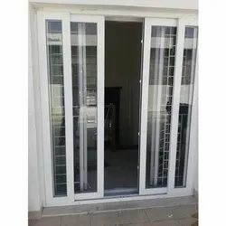 White UPVC Sliding Door