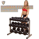 Horizontal Three Layer Dumbbell Rack