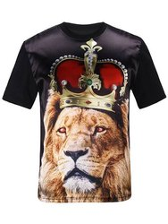 Polyster Multicolor Sublimation T Shirts